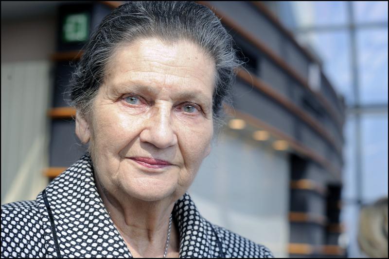 Simone Veil au Parlement européen