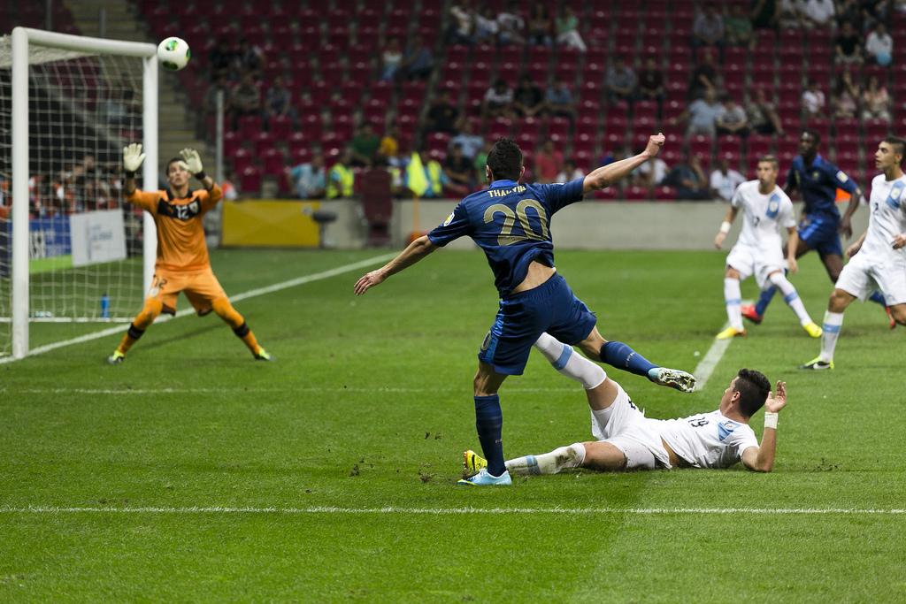 Match U20 France et Uruguay 2013