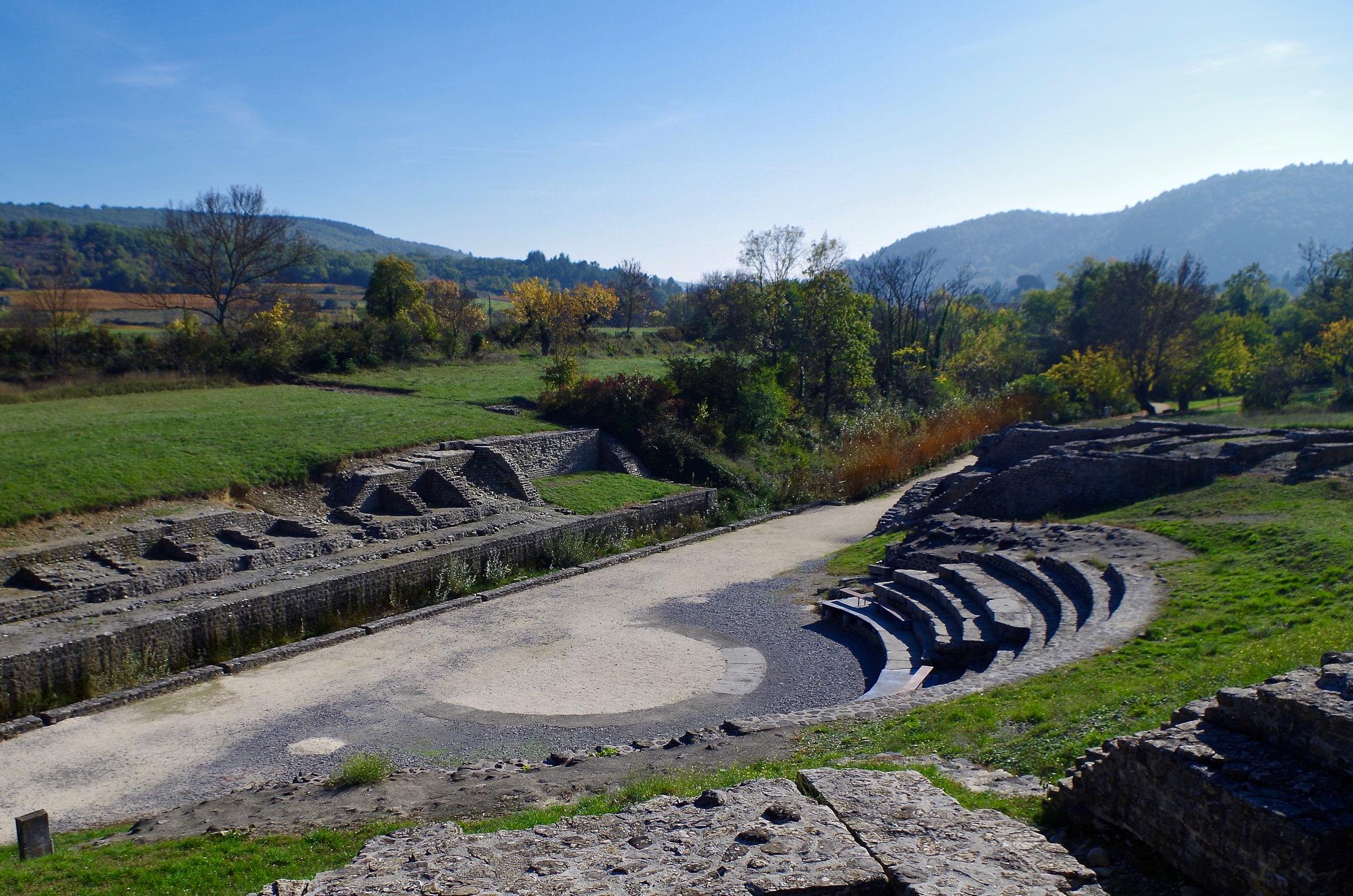 Cité romaine d'Alba Helviorum